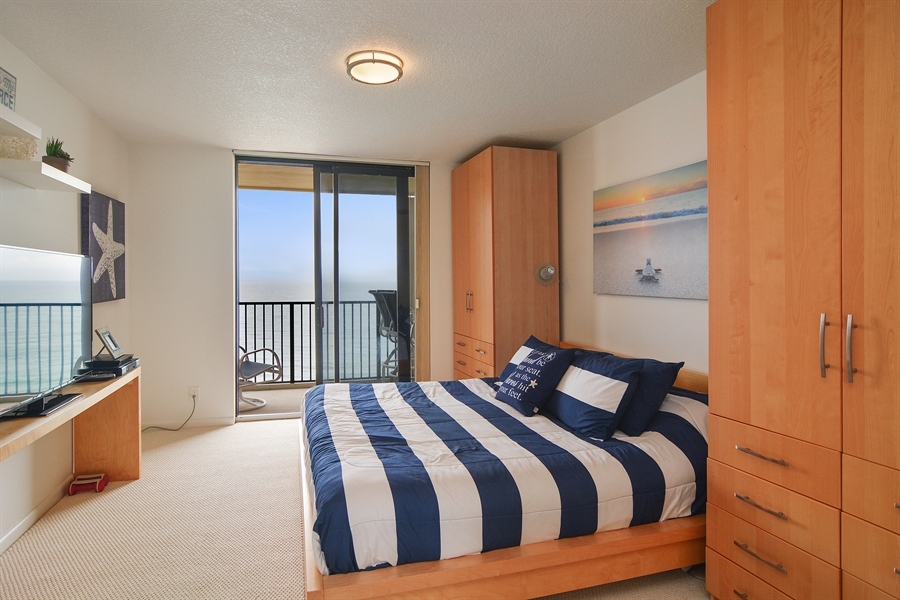 Real Estate Photography - 200 Ocean Trail Way, 902, Jupiter, FL, 33477 - Master Bedroom