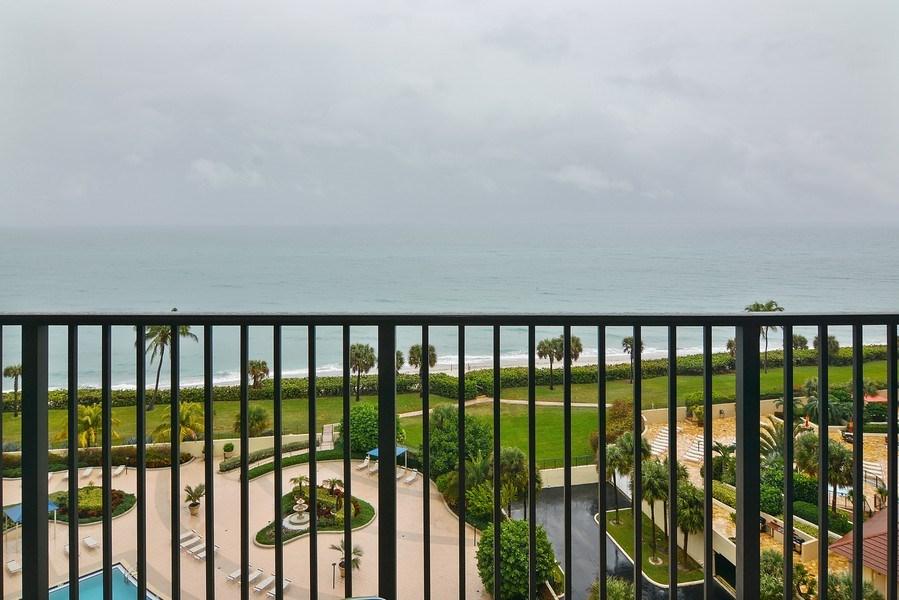 Real Estate Photography - 200 Ocean Trail Way, 902, Jupiter, FL, 33477 - Ocean View