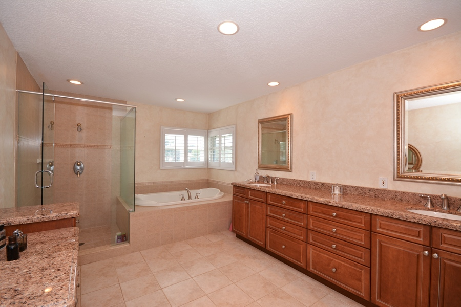 Real Estate Photography - 2799 NW 28th St, Boca Raton, FL, 33434 - Master Bathroom