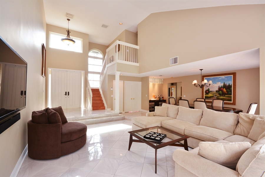Real Estate Photography - 2799 NW 28th St, Boca Raton, FL, 33434 - Living Room