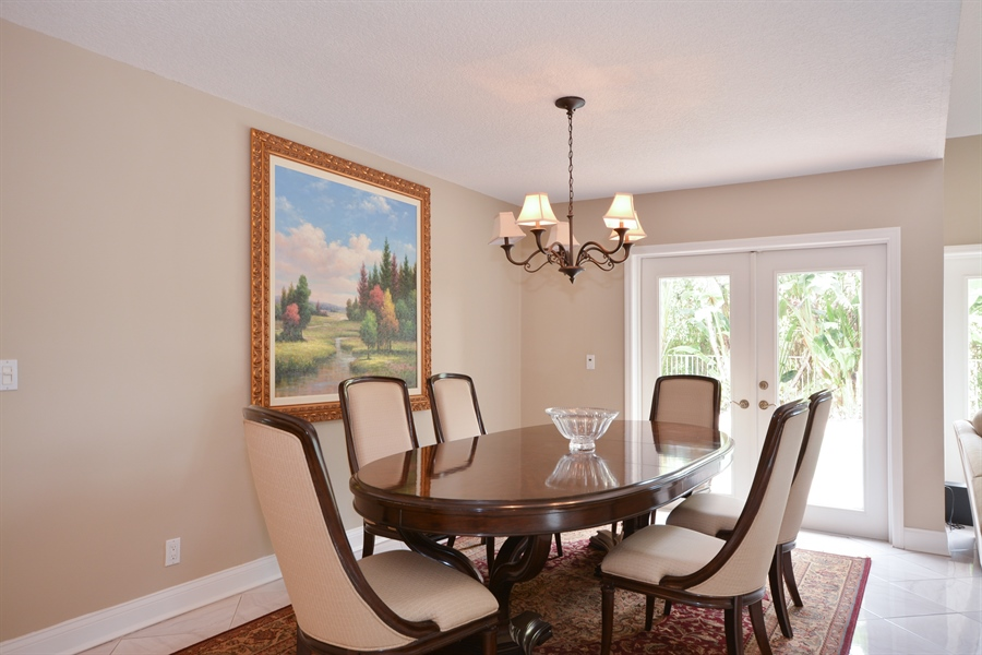 Real Estate Photography - 2799 NW 28th St, Boca Raton, FL, 33434 - Dining Room