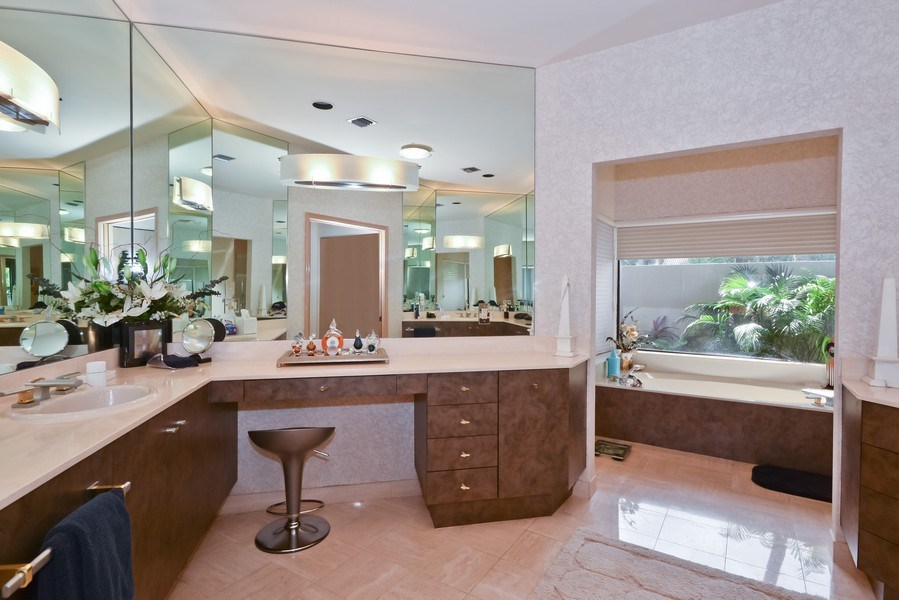 Real Estate Photography - 7571 Manderin Dr, Boca Raton, FL, 33433 - Master Bathroom
