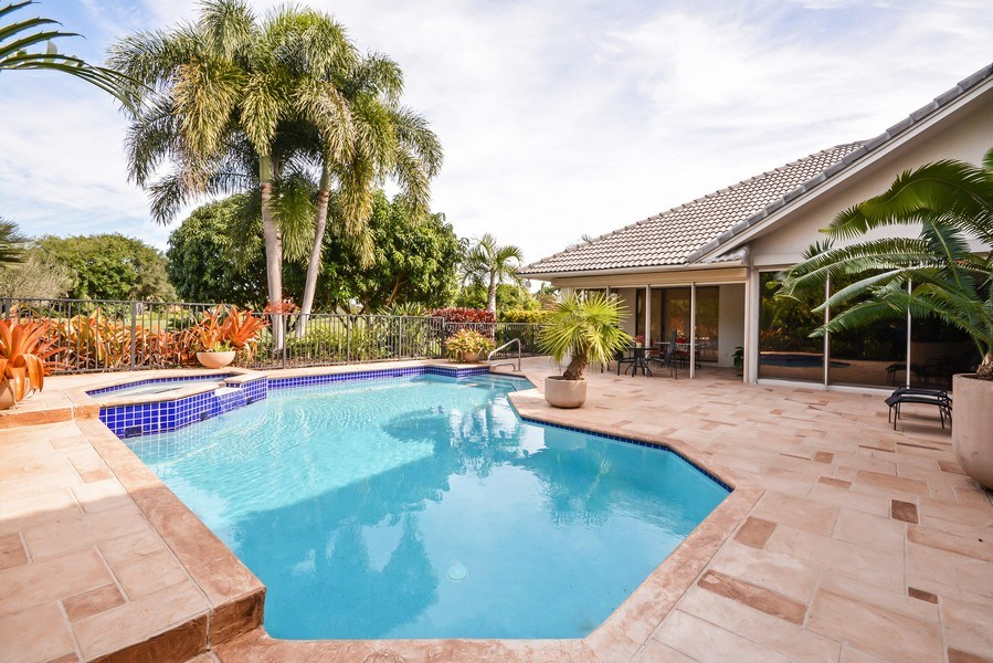 Real Estate Photography - 7571 Manderin Dr, Boca Raton, FL, 33433 - Pool