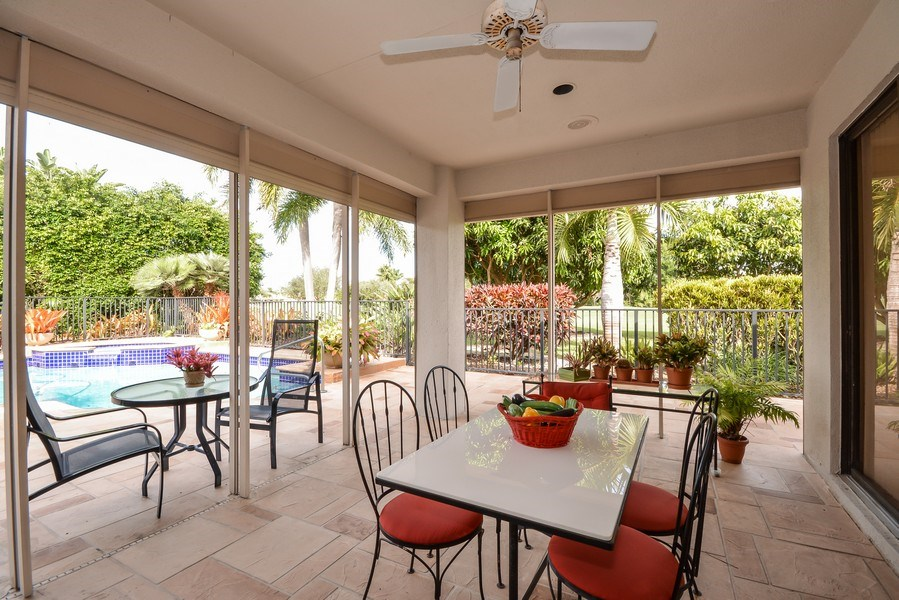 Real Estate Photography - 7571 Manderin Dr, Boca Raton, FL, 33433 - Patio
