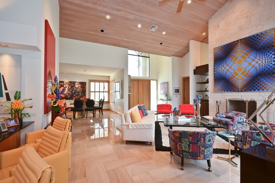 Real Estate Photography - 7571 Manderin Dr, Boca Raton, FL, 33433 - Living Room / Dining Room
