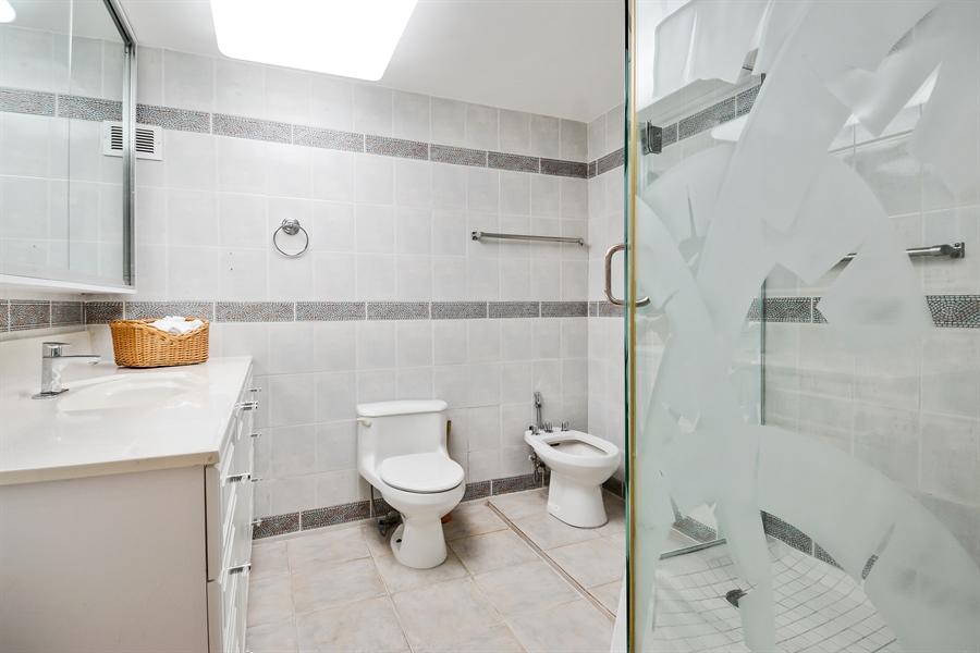 Real Estate Photography - 3505 S Ocean Dr, Unit 714, Hollywood, FL, 33019 - Master Bathroom