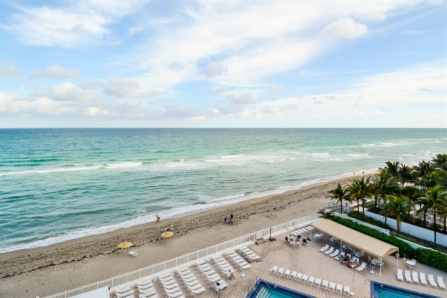 Real Estate Photography - 3505 S Ocean Dr, Unit 714, Hollywood, FL, 33019 - View