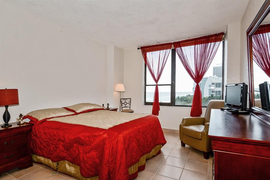 Real Estate Photography - 3505 S Ocean Dr, Unit 714, Hollywood, FL, 33019 - Bedroom