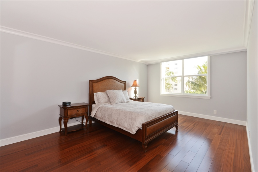 Real Estate Photography - 1 Harbourside, Unit 4307, Delray Beach, FL, 33483 - Master Bedroom