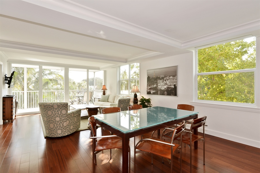 Real Estate Photography - 1 Harbourside, Unit 4307, Delray Beach, FL, 33483 - Dining Room