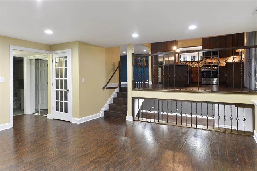 Real Estate Photography - 1914 E 170th Pl, South Holland, IL, 60473 - Family/Kitchen/Entertainment Room