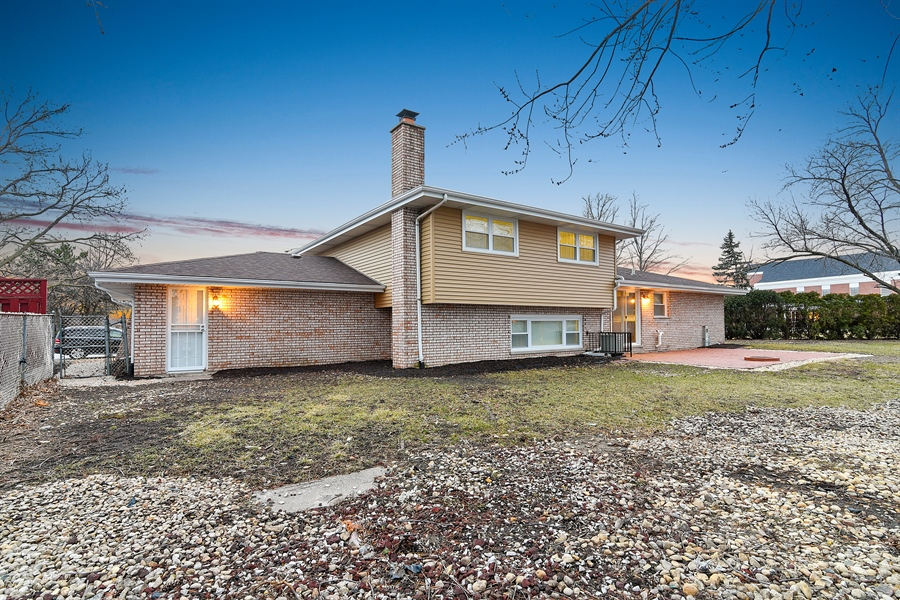 Real Estate Photography - 1914 E 170th Pl, South Holland, IL, 60473 - Rear View