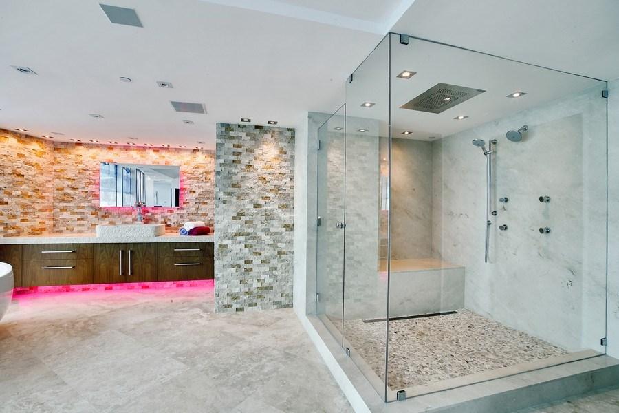 Real Estate Photography - 1200 Holiday Dr, Unit 1103, Fort Lauderdale, FL, 33316 - Master Bathroom