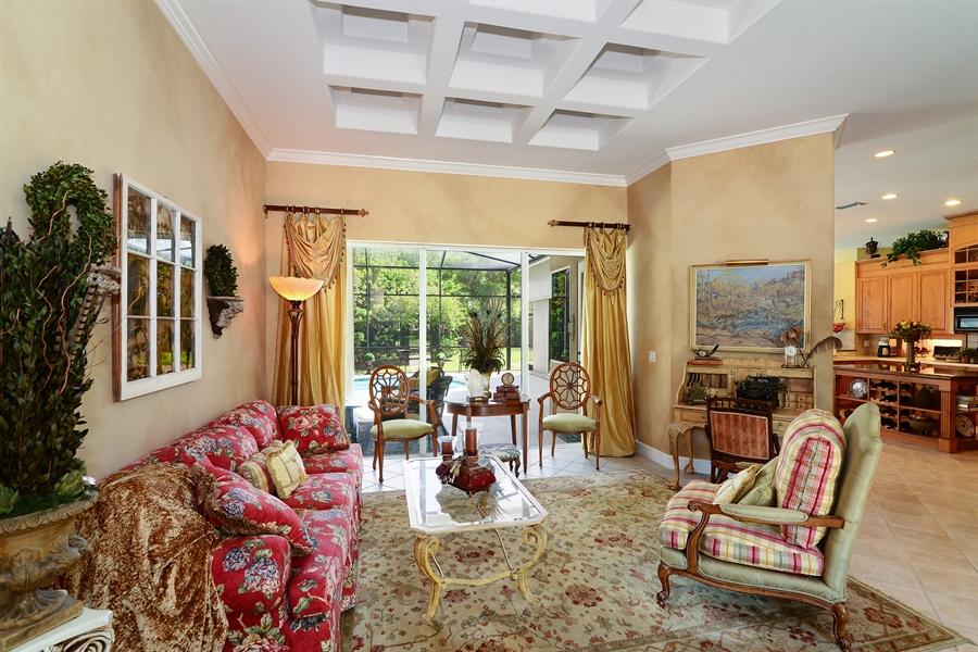Real Estate Photography - 5124 Rue Vendome, Lutz, FL, 33558 - Living Room