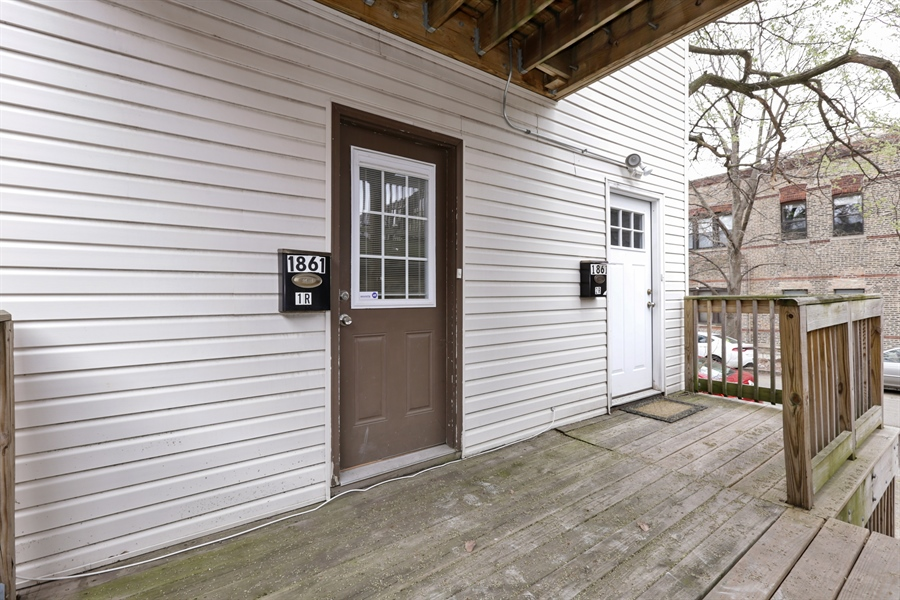 Real Estate Photography - 1861 N Hoyne Ave, Unit 1R, Chicago, IL, 60647 - Front View