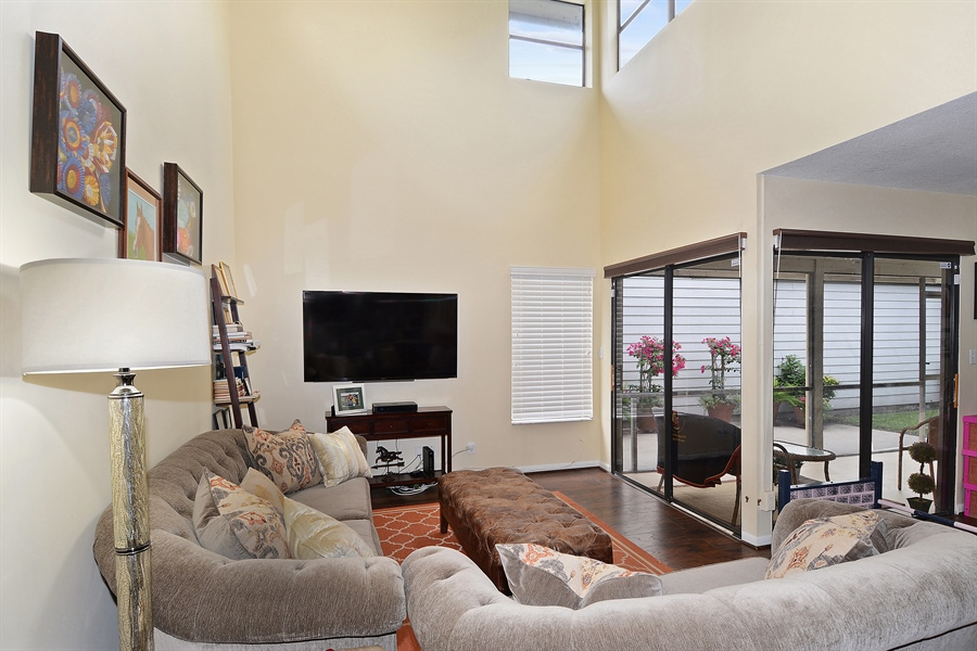 Real Estate Photography - 2462 Bedford Mews Dr, Wellington, FL, 33414 - Living Room