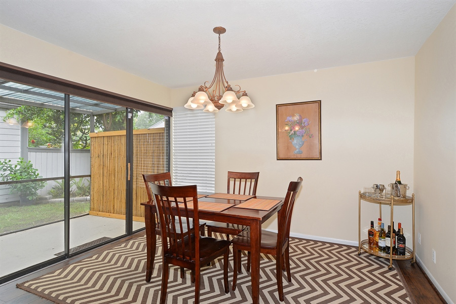 Real Estate Photography - 2462 Bedford Mews Dr, Wellington, FL, 33414 - Dining Area