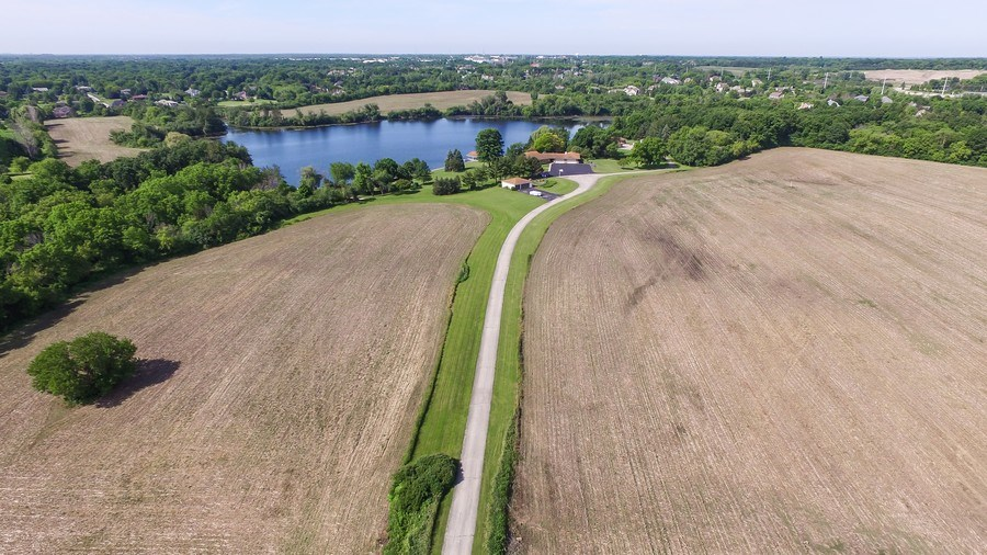 Real Estate Photography - 25260 N Gilmer Rd, Hawthorn Woods, IL, 60060 - Aerial View
