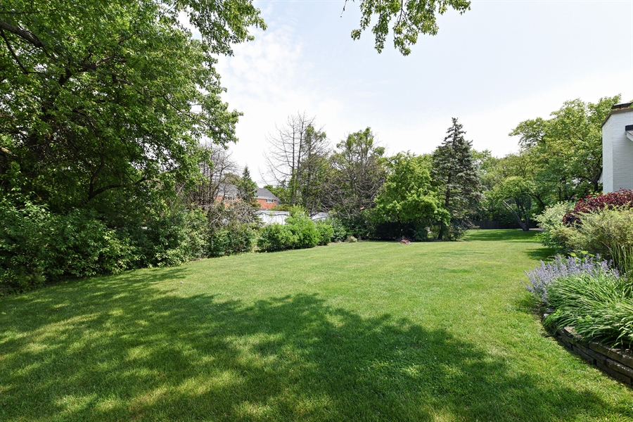 Real Estate Photography - 9 Charleston Rd, Hinsdale, IL, 60521 - Back Yard