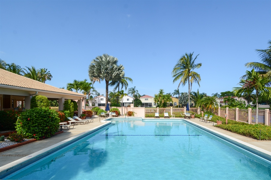 Real Estate Photography - 520 SE 12th St, Unit 103, Dania Beach, FL, 33004 - Pool