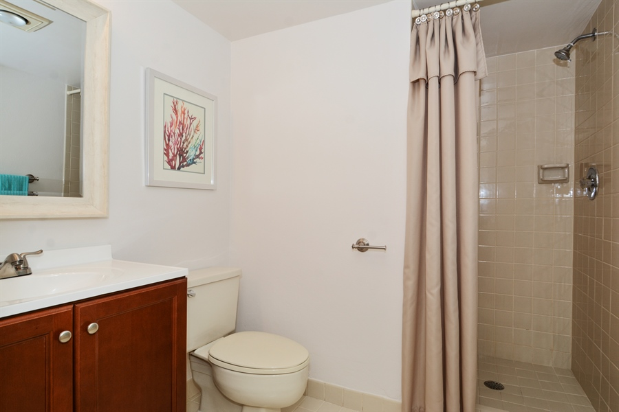 Real Estate Photography - 520 SE 12th St, Unit 103, Dania Beach, FL, 33004 - Bathroom