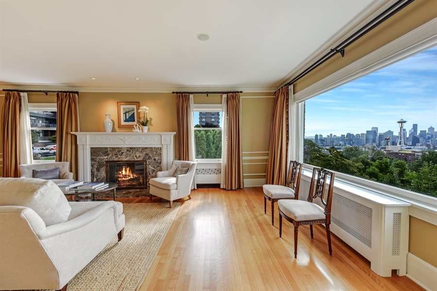 Real Estate Photography - 303 W Highland Dr, Seattle, WA, 98119 - Living Room