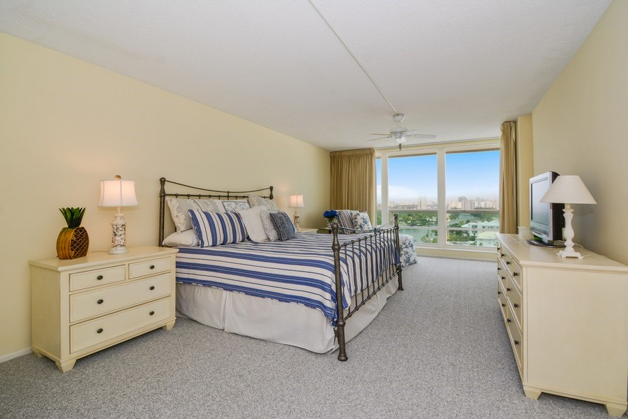 Real Estate Photography - 2100 S Ocean Ln 1503, Fort Lauderdale, FL, 33316 - Master Bedroom