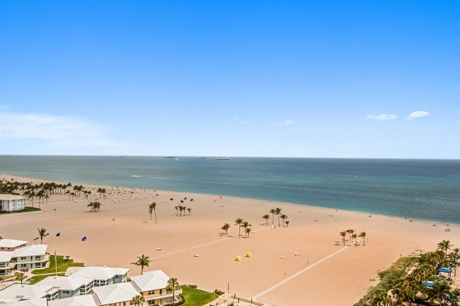 Real Estate Photography - 2100 S Ocean Ln 1503, Fort Lauderdale, FL, 33316 - Ocean View