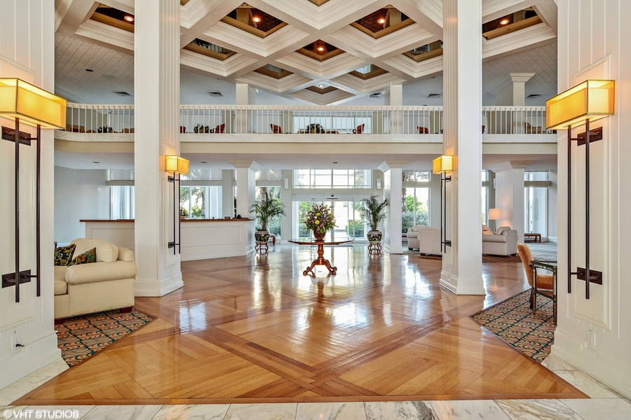 Real Estate Photography - 2100 S Ocean Ln 1503, Fort Lauderdale, FL, 33316 - Grand Lobby