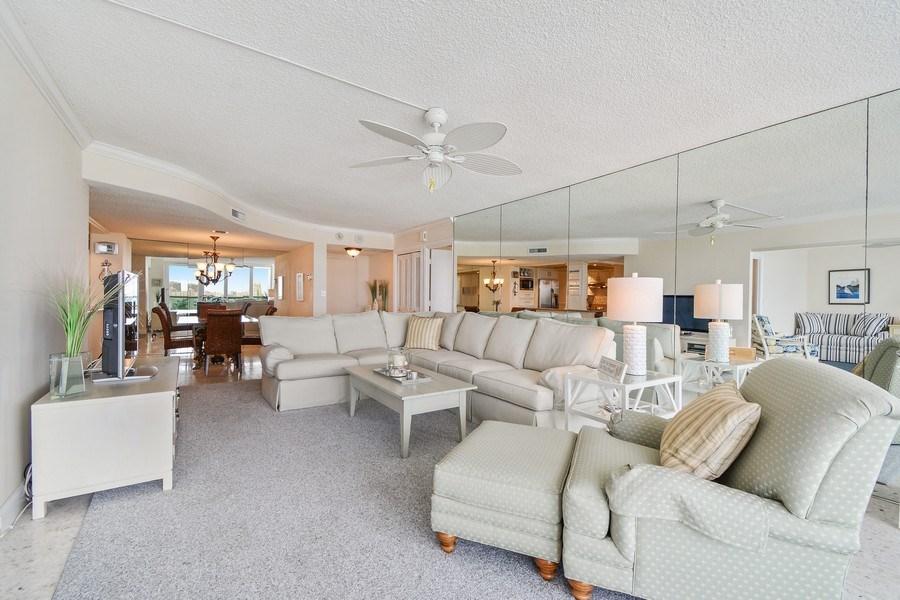 Real Estate Photography - 2100 S Ocean Ln 1503, Fort Lauderdale, FL, 33316 - Living Room / Dining Room