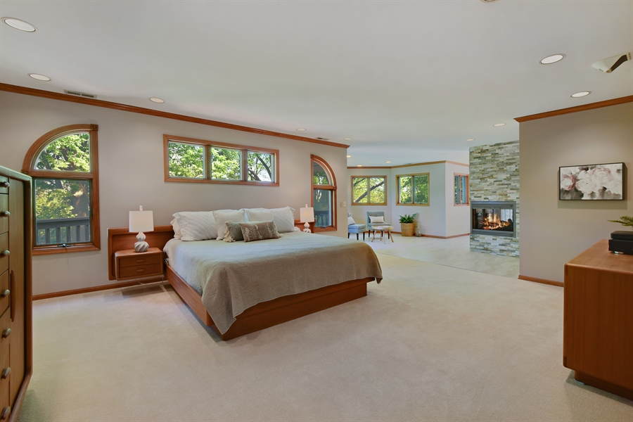 Real Estate Photography - 3929 Forest Fork, Long Grove, IL, 60047 - Master Bedroom