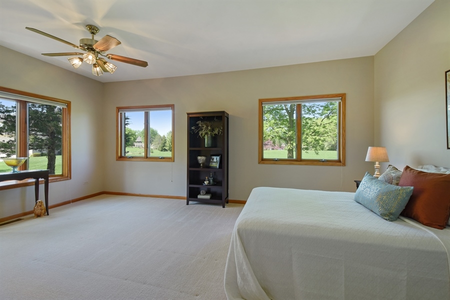 Real Estate Photography - 3929 Forest Fork, Long Grove, IL, 60047 - Guest Bedroom