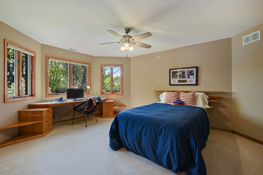 Real Estate Photography - 3929 Forest Fork, Long Grove, IL, 60047 - 3rd Bedroom