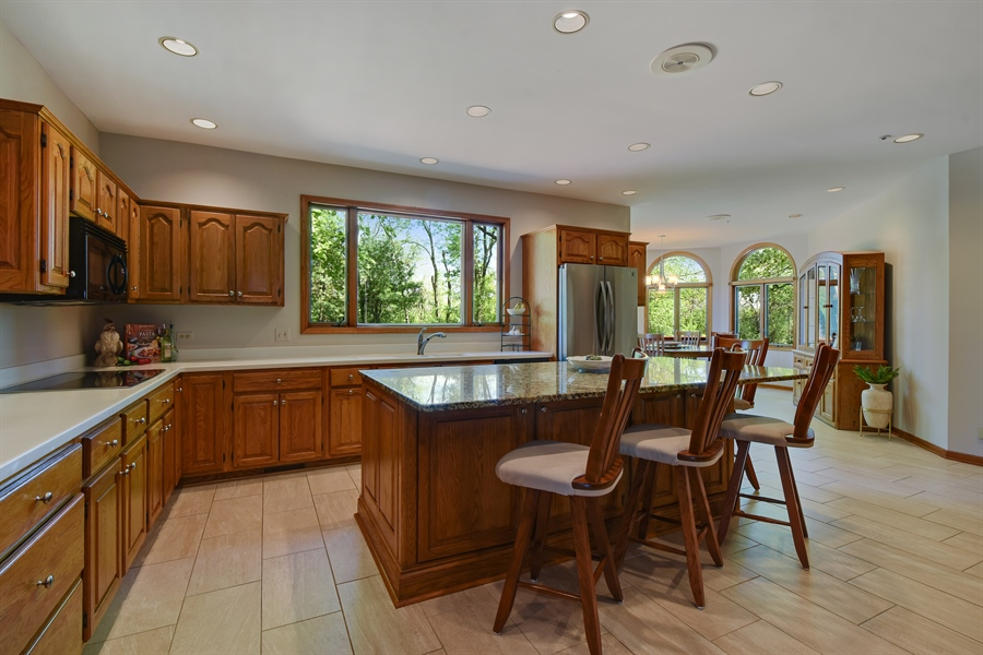 Real Estate Photography - 3929 Forest Fork, Long Grove, IL, 60047 - Kitchen