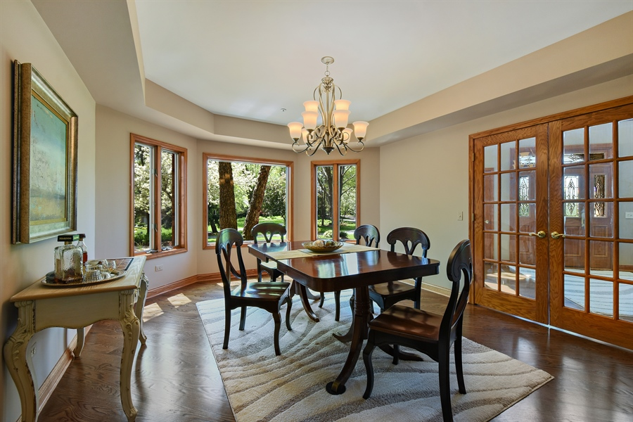 Real Estate Photography - 3929 Forest Fork, Long Grove, IL, 60047 - Dining Room