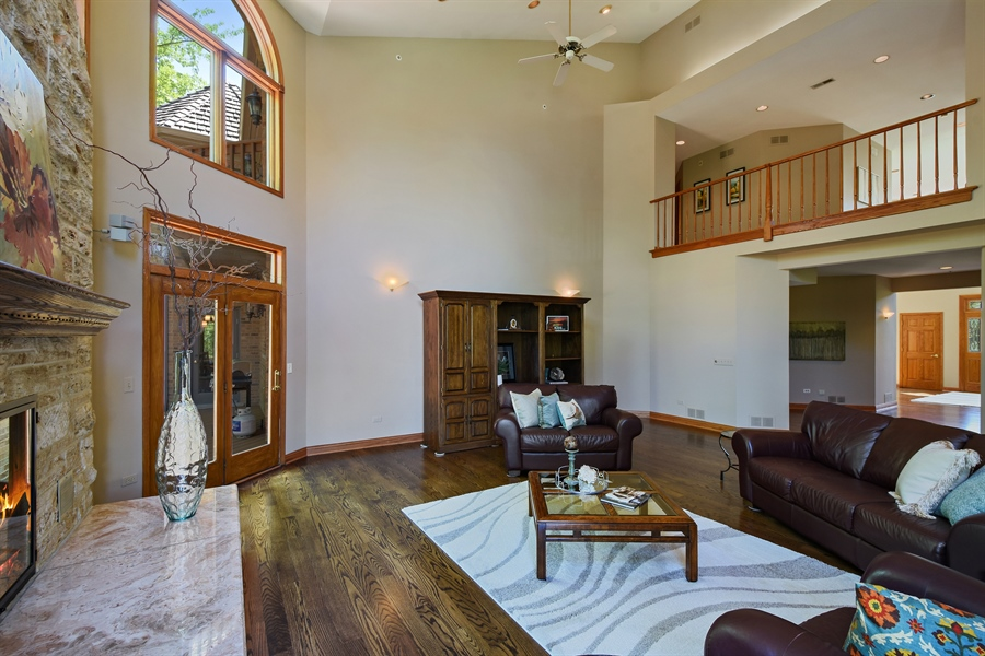 Real Estate Photography - 3929 Forest Fork, Long Grove, IL, 60047 - Great room