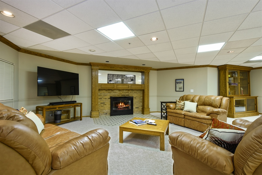 Real Estate Photography - 3929 Forest Fork, Long Grove, IL, 60047 - Basement