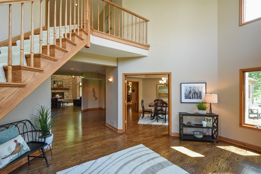 Real Estate Photography - 3929 Forest Fork, Long Grove, IL, 60047 - Foyer