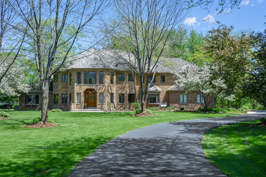 Real Estate Photography - 3929 Forest Fork, Long Grove, IL, 60047 - Exterior Front