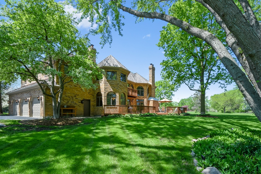 Real Estate Photography - 3929 Forest Fork, Long Grove, IL, 60047 - Side View