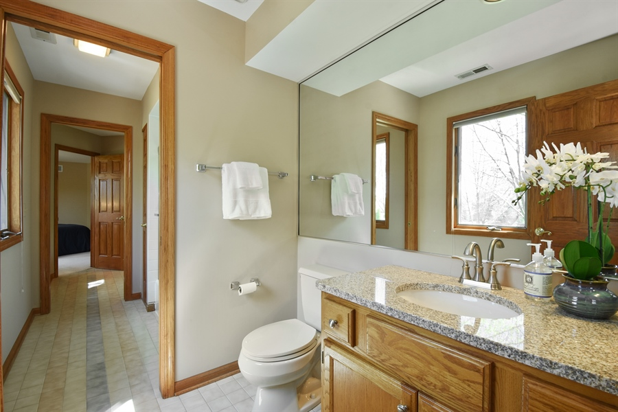 Real Estate Photography - 3929 Forest Fork, Long Grove, IL, 60047 - 2nd Bathroom