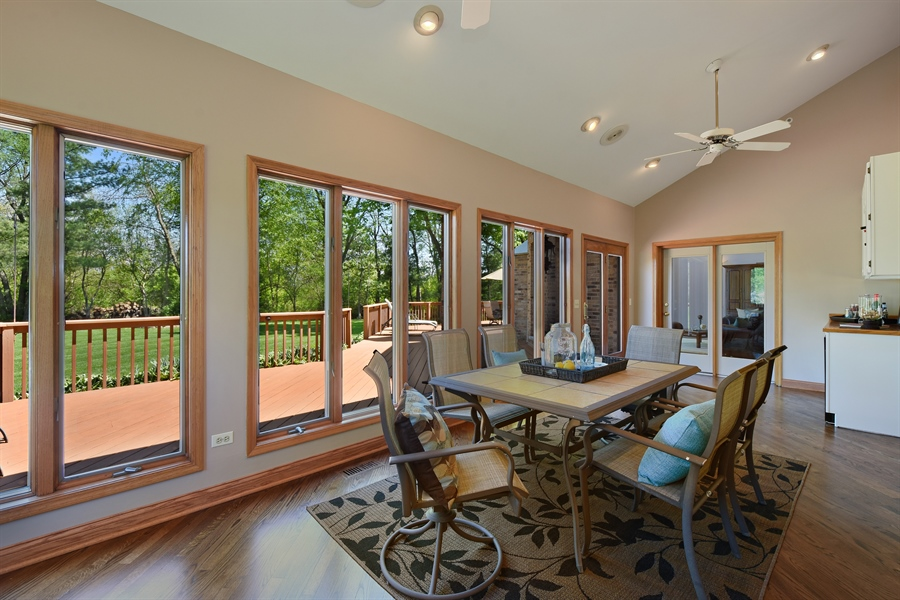Real Estate Photography - 3929 Forest Fork, Long Grove, IL, 60047 - Sun Room