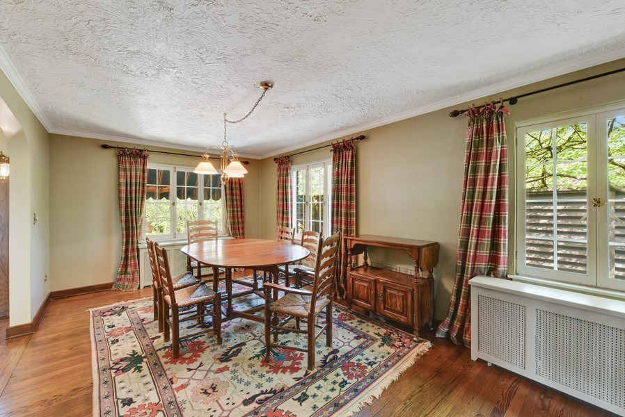 Real Estate Photography - 707 Taft Rd, Hinsdale, IL, 60521 - Breakfast Area