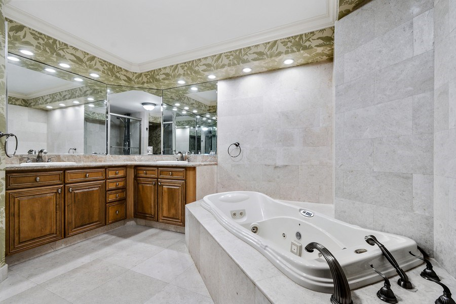 Real Estate Photography - 2100 S Ocean Ln, Unit 1808, Fort Lauderdale, FL, 33316 - Master Bathroom