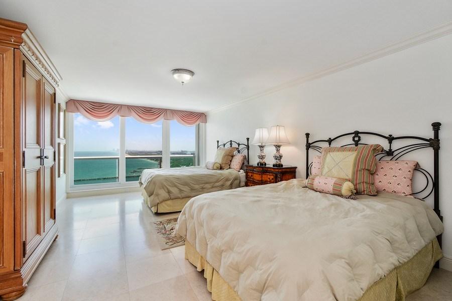 Real Estate Photography - 2100 S Ocean Ln, Unit 1808, Fort Lauderdale, FL, 33316 - Master Bedroom