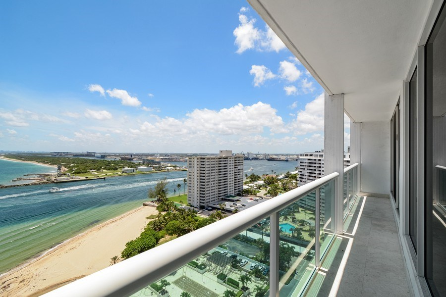 Real Estate Photography - 2100 S Ocean Ln, Unit 1808, Fort Lauderdale, FL, 33316 - View