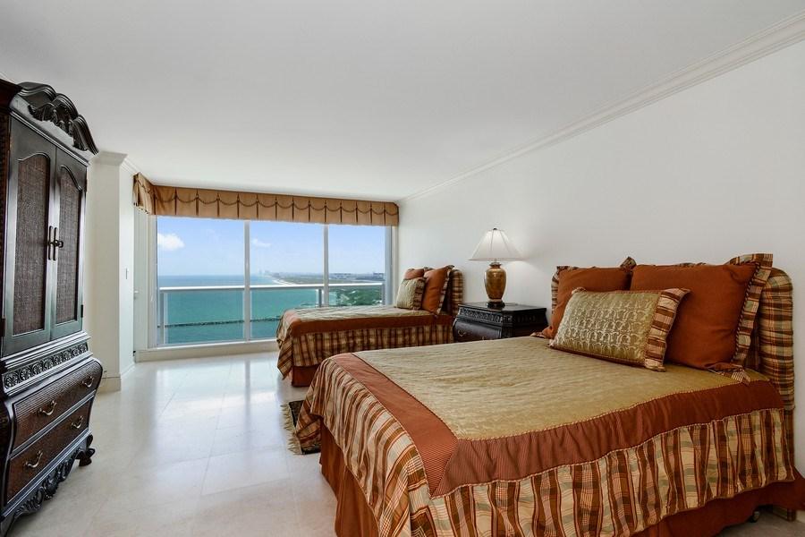 Real Estate Photography - 2100 S Ocean Ln, Unit 1808, Fort Lauderdale, FL, 33316 - Bedroom