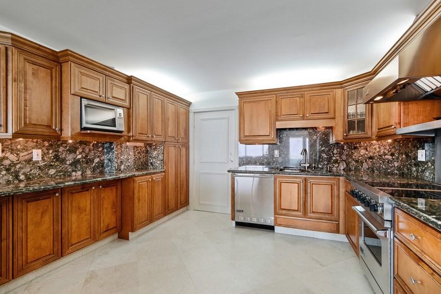 Real Estate Photography - 2100 S Ocean Ln, Unit 1808, Fort Lauderdale, FL, 33316 - Kitchen