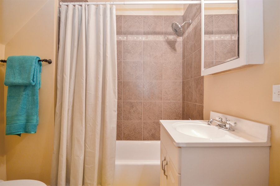 Real Estate Photography - 4022 N Kilbourn Ave, Chicago, IL, 60641 - 3rd Bathroom