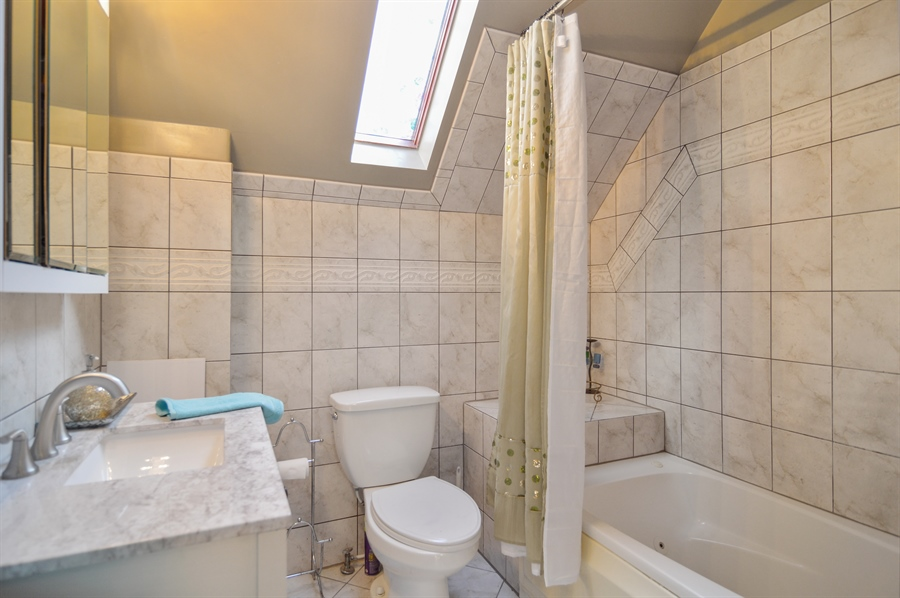 Real Estate Photography - 4022 N Kilbourn Ave, Chicago, IL, 60641 - Master Bathroom